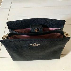 kate spade Bags - Kate Spade black leather chain strap purse